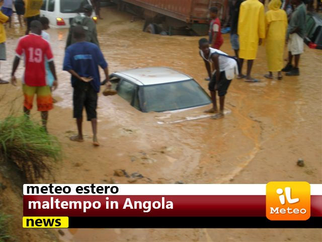 Angola, piogge torrenziali. Vittime