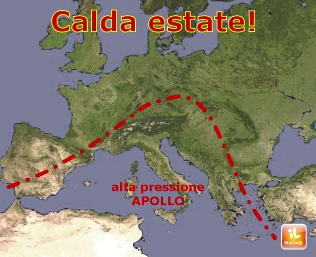 APOLLO infiamma l'Italia: sarà estate fino a sabato!