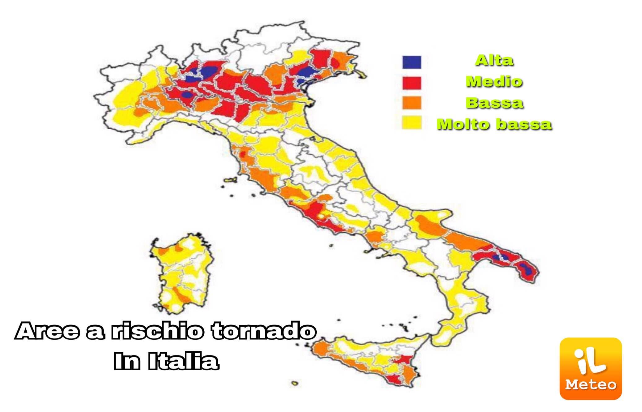 Allerta meteo arancione, raffiche di vento e temporali in Sicilia