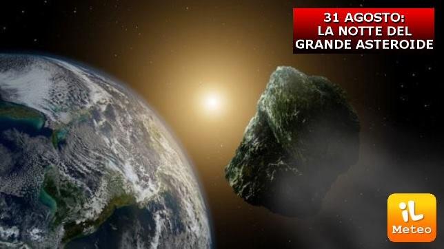 Asteroide Florance: passerà il 31 agosto a 7milioni di km dalla Terra