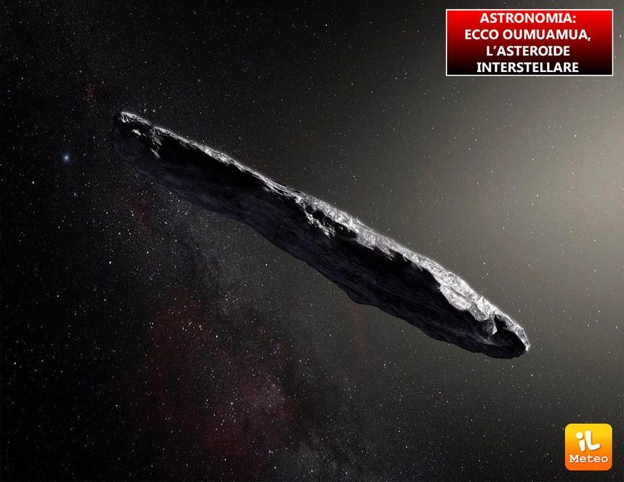 La struttura oblunga di Oumuamua