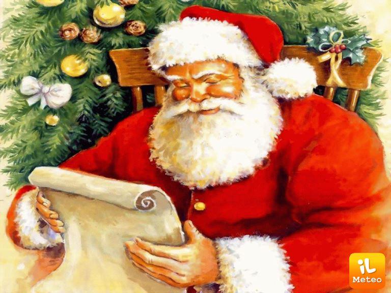 Immagini Santa Claus Natale.Natale Ecco Come Nasce Santa Claus Ilmeteo It