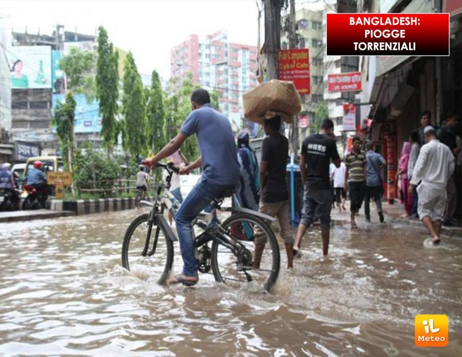 Forte maltempo in Bangladesh