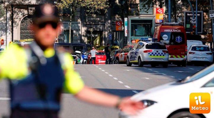 Attentato a Barcellona