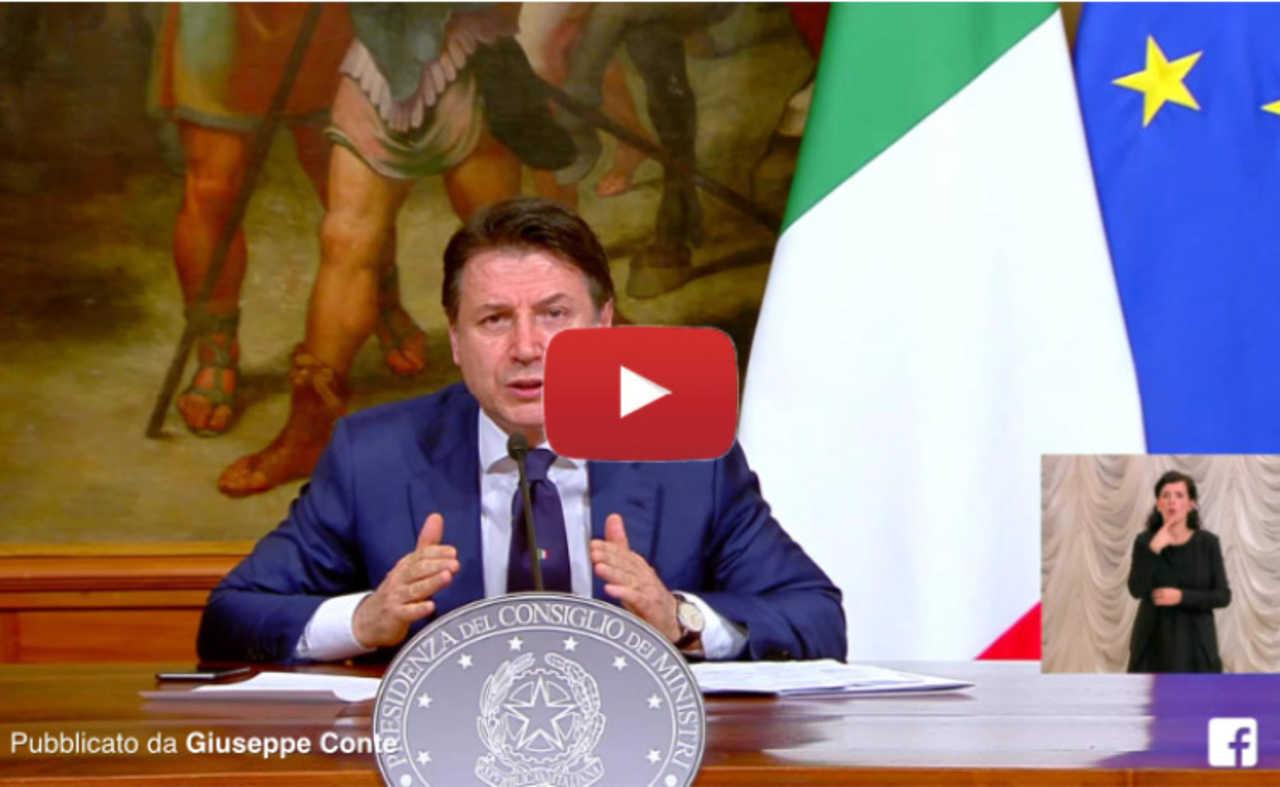 CORONAVIRUS in DIRETTA VIDEO: il DURO DISCORSO del PREMIER CONTE ...