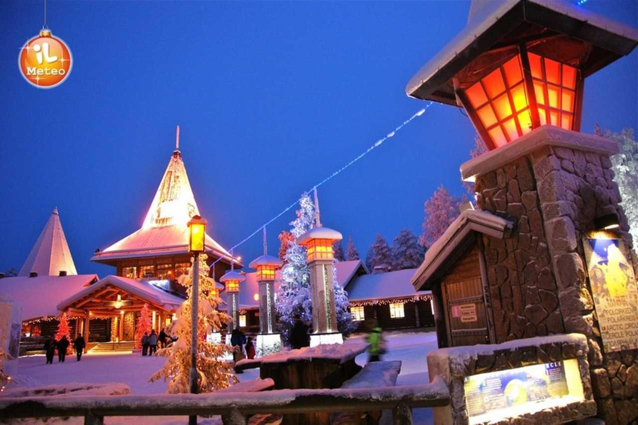 Casa Babbo Natale Rovaniemi Finlandia.Rovaniemi Ecco Dove Abita Babbo Natale Video Ilmeteo It