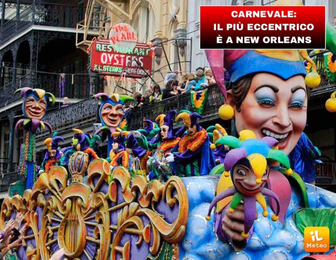 CARNEVALE Il Piu Eccentrico E A New Orleans VIDEO ILMETEOit