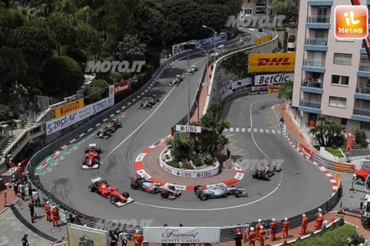 Circuito Monaco : Formula uno le previsioni meteo per il gran premio di monaco