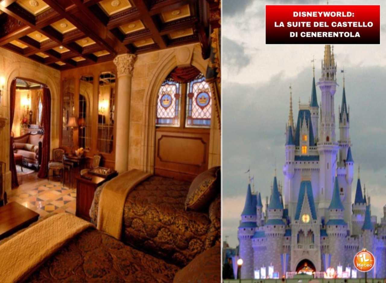 Disneyworld La Suite Del Castello Di Cenerentola Video Il Meteo