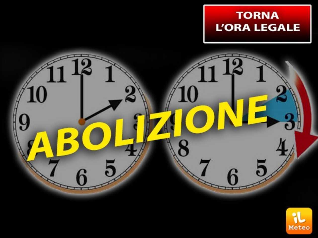 ORA LEGALE: a breve il CAMBIO, sarà L'ULTIMO? Ecco la DATA e la DECISIONE  dell'Italia sulla Possibile ABOLIZIONE » ILMETEO.it