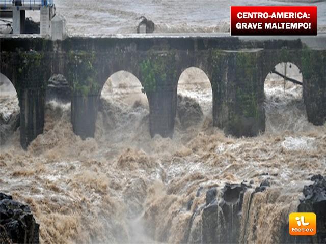Centro America, maltempo senza sosta nei giorni scorsi