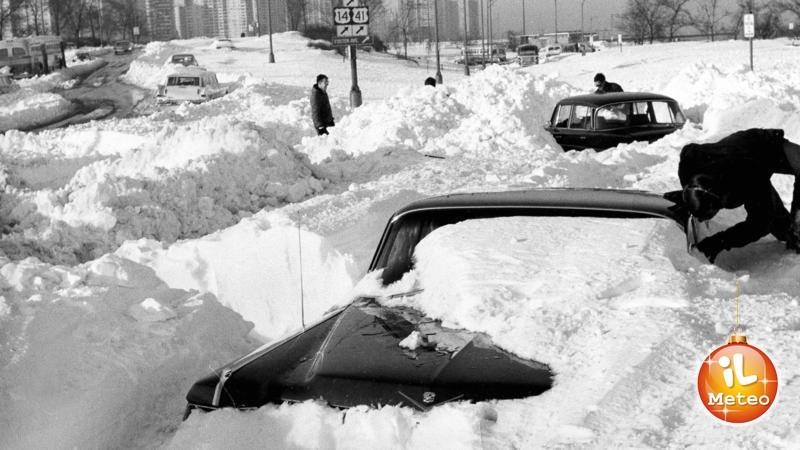 Chicago sommersa dalla neve tra il 26 e il 27 Gennaio 1967