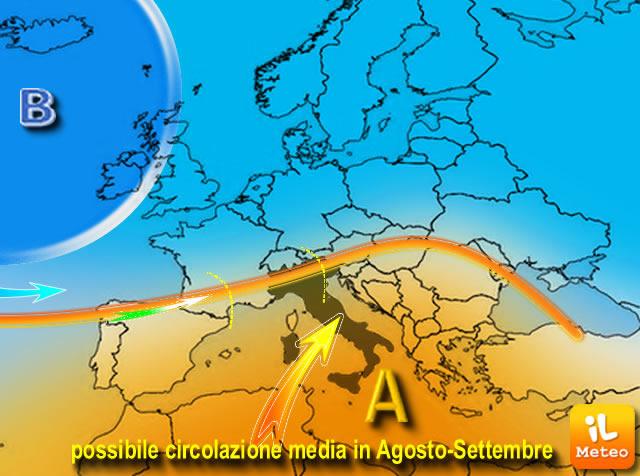 Meteo, allerta meteo Weekend, violenti temporali in arrivo al Nord e Appennini