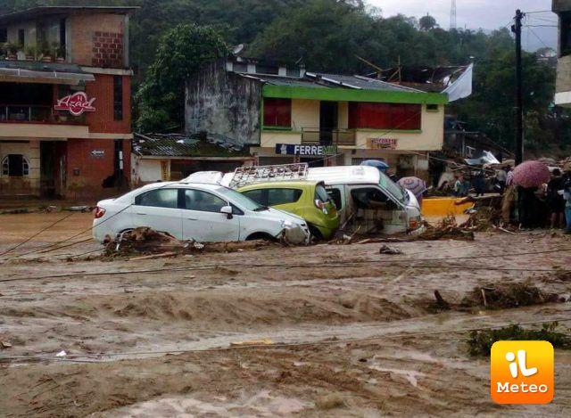 Colombia, numerose frane dopo le piogge. Vittime e dispersi