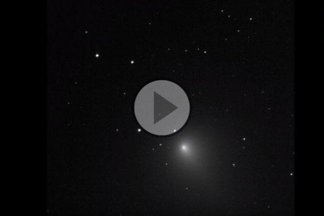 Stupenda la cometa di Natale 2018