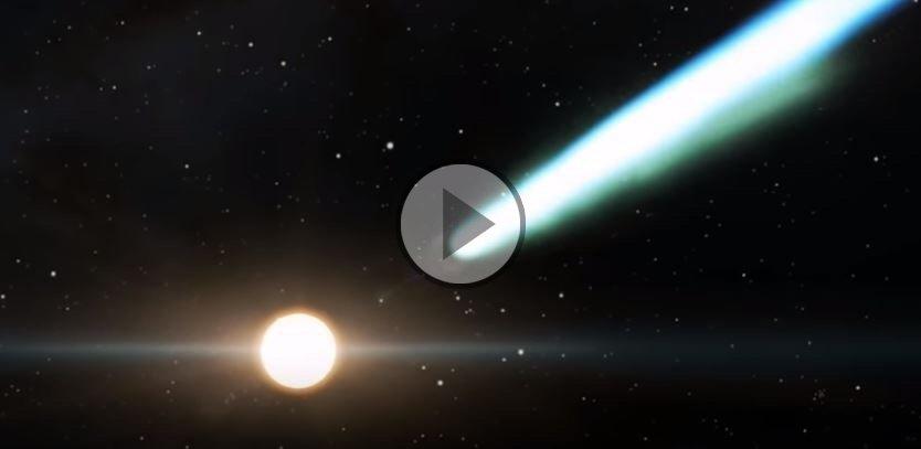 Stella Luminosa Di Natale.Meteo Cronaca Diretta Video Cometa Di Natale Sempre Piu Grande E