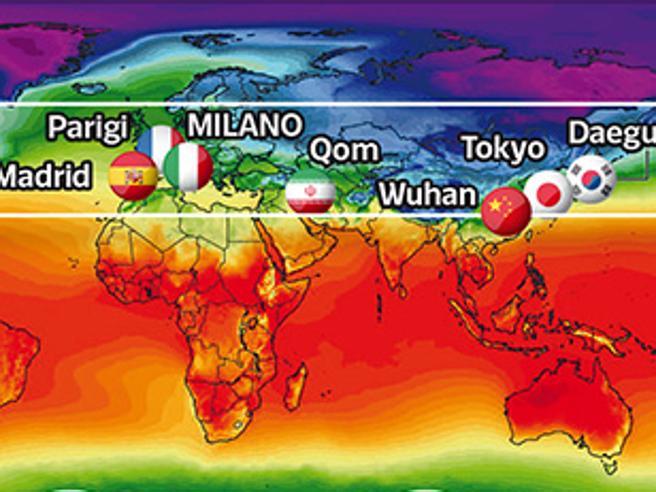 Coronavirus nel mondo, un filo invisibile che collega l'Italia a Wuhan