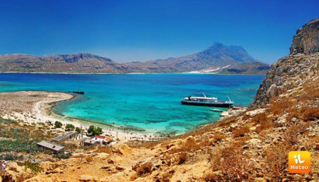 Uno scorcio dell'isola di Creta