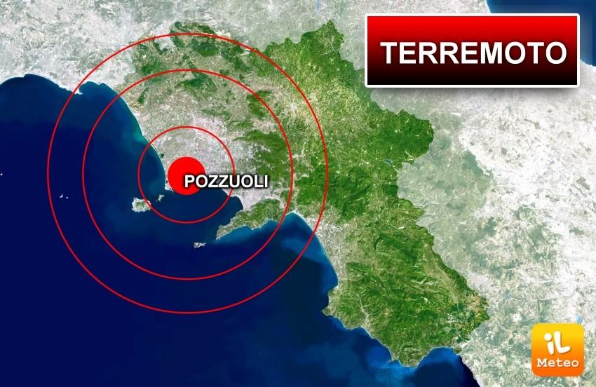 Terremoto a POZZUOLI, Napoli