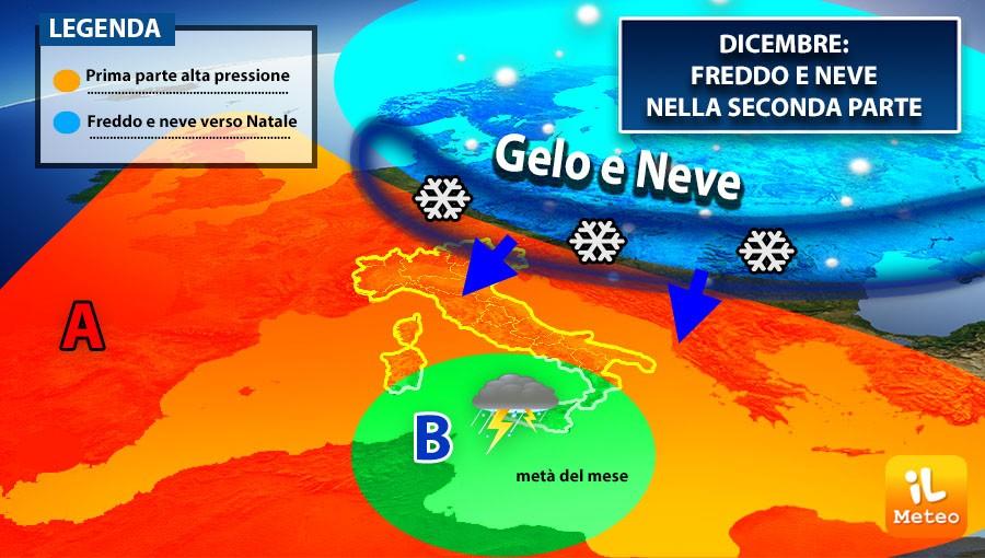 Meteo Aggiornamento Per Dicembre Natale Con Aria Gelida E Neve