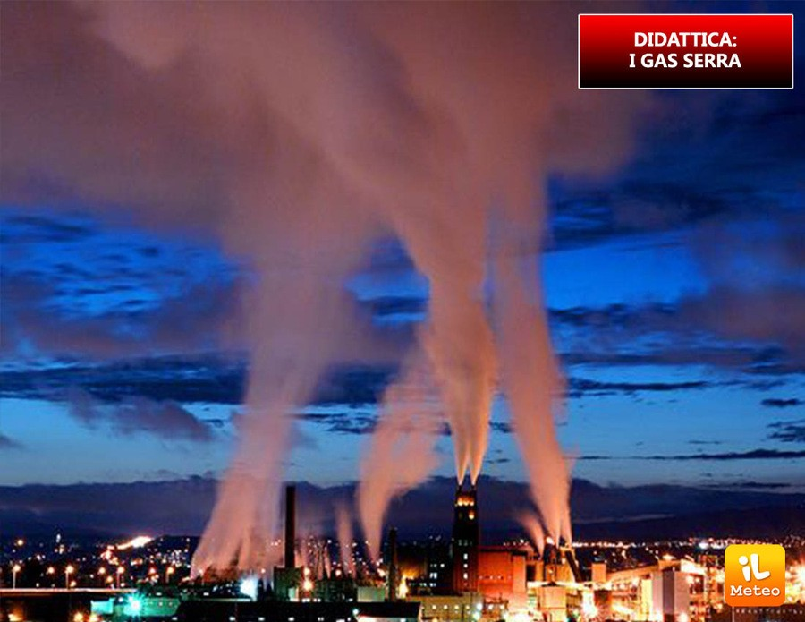 Gas serra, una minaccia per il nostro ambiente