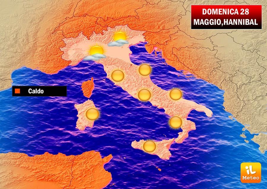 Previsioni meteo 9 Giugno: ondata di caldo africano in arrivo