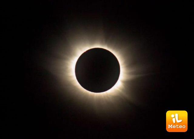 Un'eclissi totale di sole