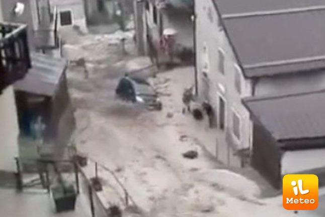 Alluvione a Enego