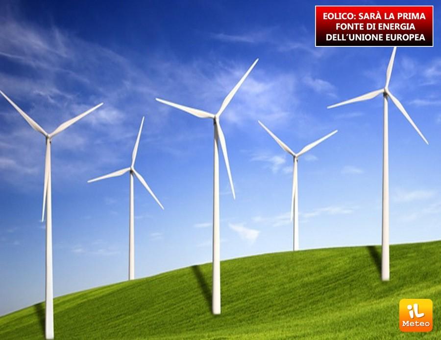 Energia eolica, Europa in prima linea