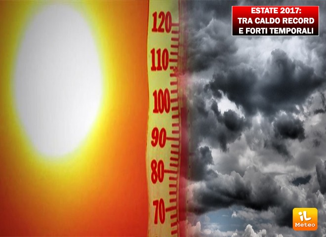 Un'estate 2017 all'insegna del super caldo secondo ECMWF