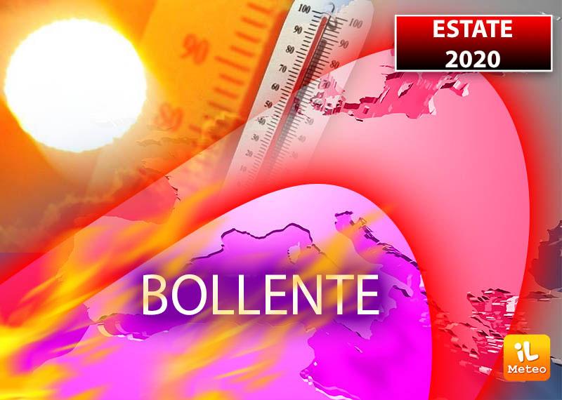 Estate 2020: bollente con caldo da record e pericolo eventi estremi