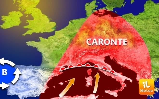 Incubo Caronte sull'Italia per la prossima estate