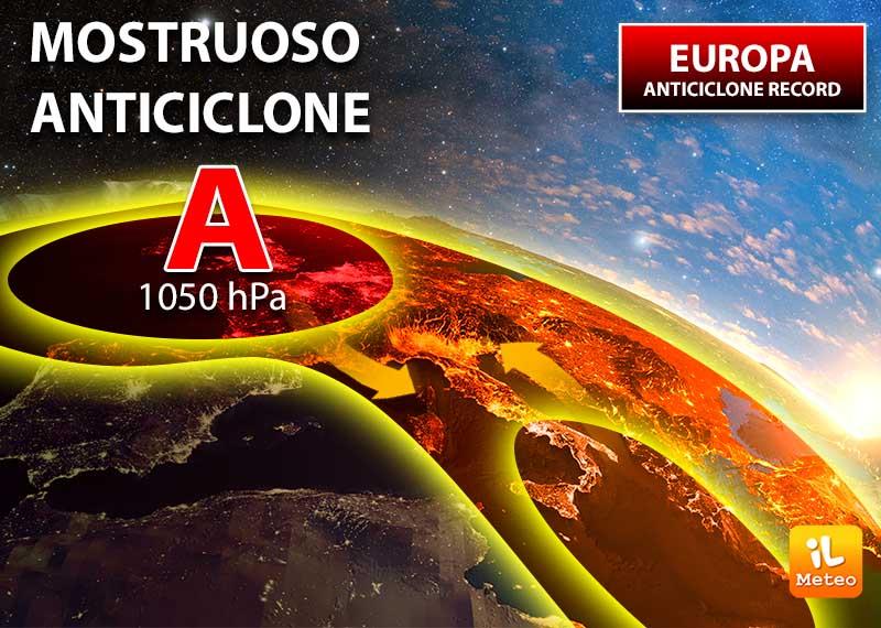 Meteo: In arrivo l'anticiclone che travolgerà l'Italia…
