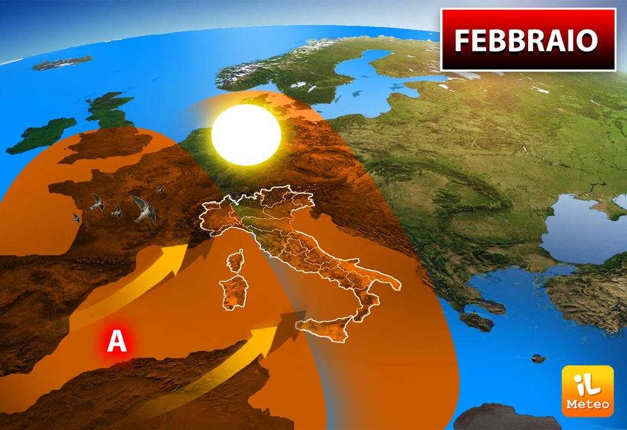 Febbraio 2020: primi segnali di Primavera sull'Italia?