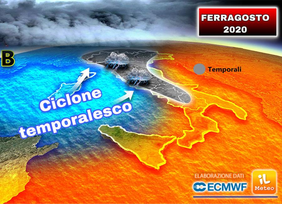 Previsioni 10-13 agosto: nuova ondata di caldo africano!