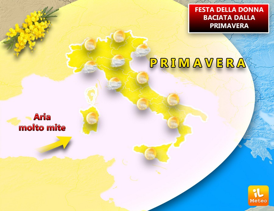 Meteo Festa Della Donna Con Clima Mite 2 Giorni Di Primavera