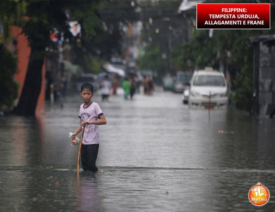 Filippine, grave maltempo nei giorni scorsi