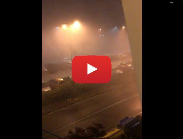 Tempesta a Genova