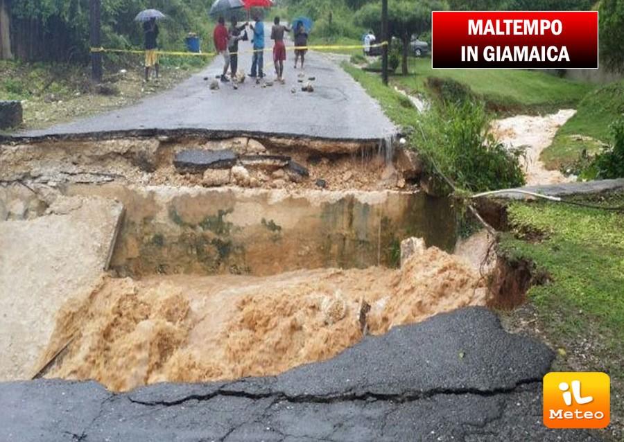 Grave maltempo nei giorni scorsi. Danni ingenti in Giamaica