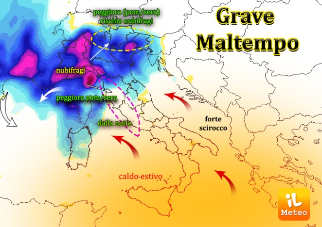 Allarme meteo a Genova: danni