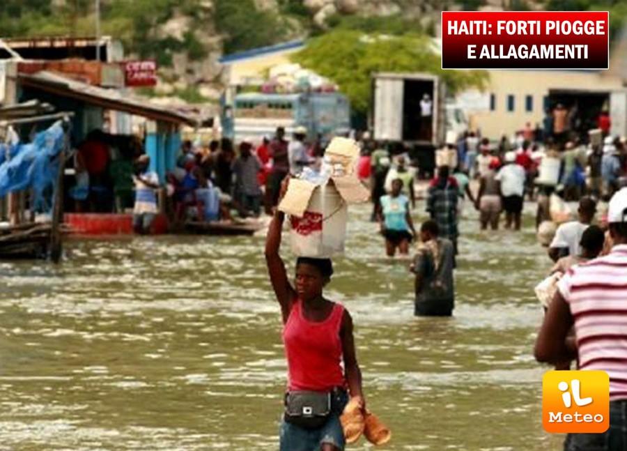 Haiti, forte maltempo nel Sud dell'isola