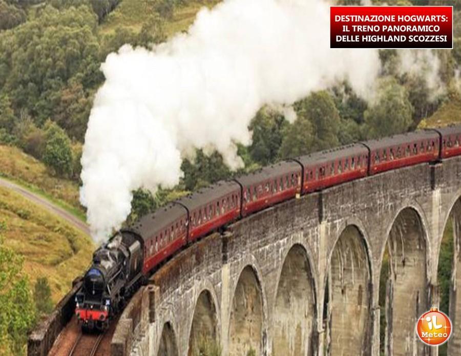 DESTINAZIONE HOGWARTS: il treno panoramico delle Highland scozzesi
