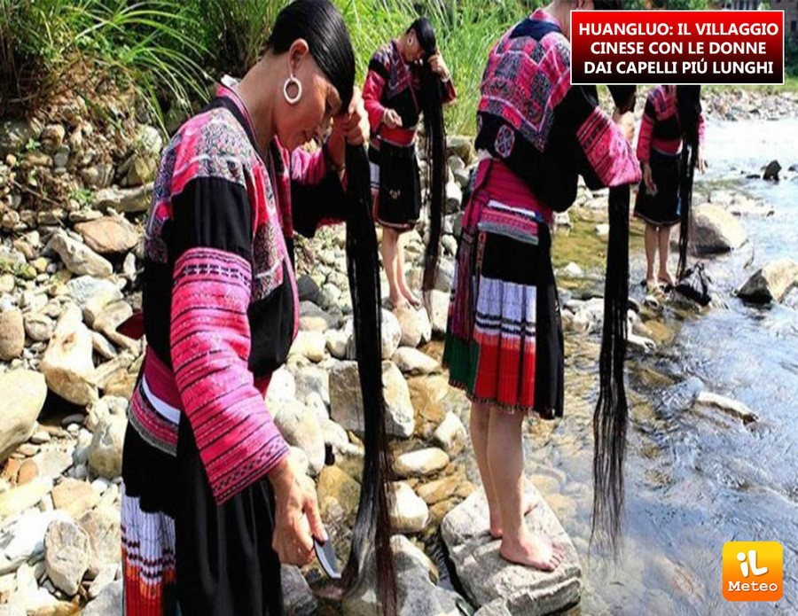 HUANGLUO: il villaggio cinese con le donne dai capelli più lunghi