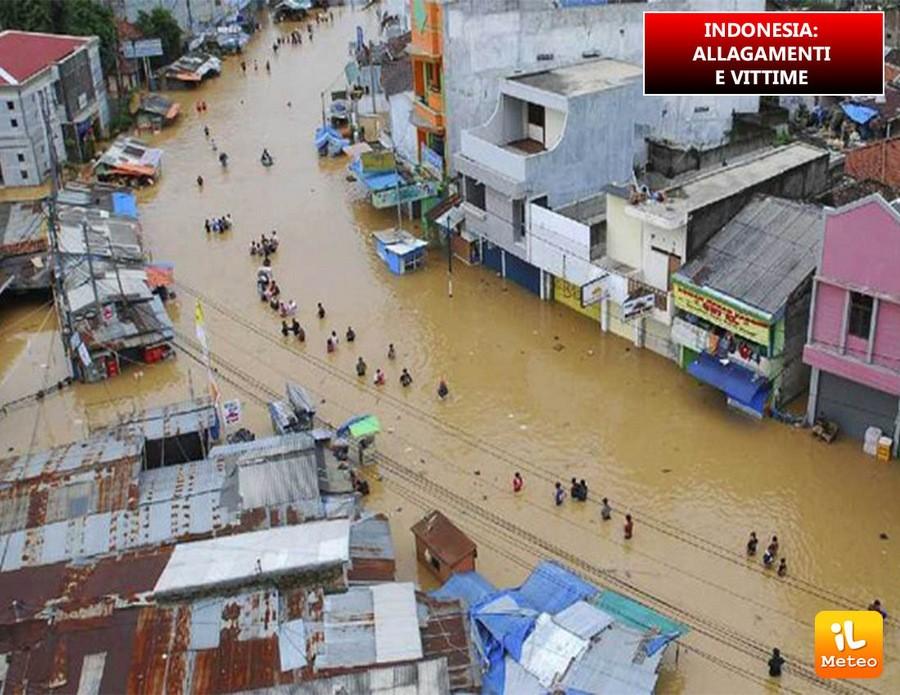 Indonesia, due vittime e danni ingenti a seguito della violenta ondata di maltempo