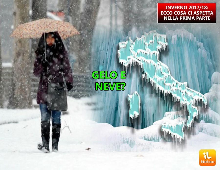 Prima parte dell'Inverno subito fredda e nevosa?