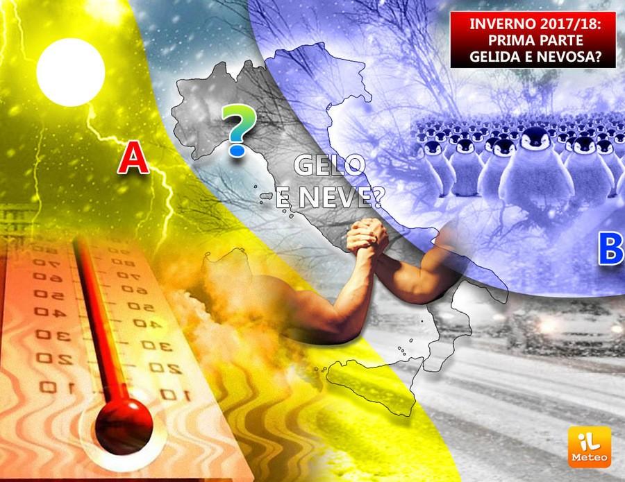 La prima parte dell'Inverno sarà più fredda del solito?