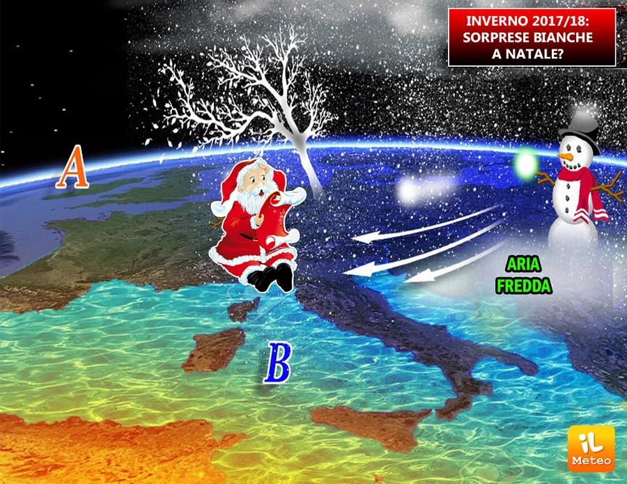 natale 2018 neve INVERNO 2017/2018: meteo avverso a NATALE, gelo e NEVE? » ILMETEO.it natale 2018 neve