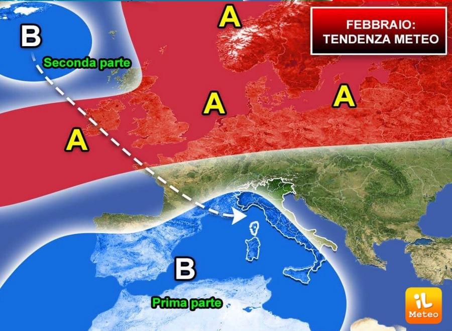 Inverno 2018: tendenza per Febbraio