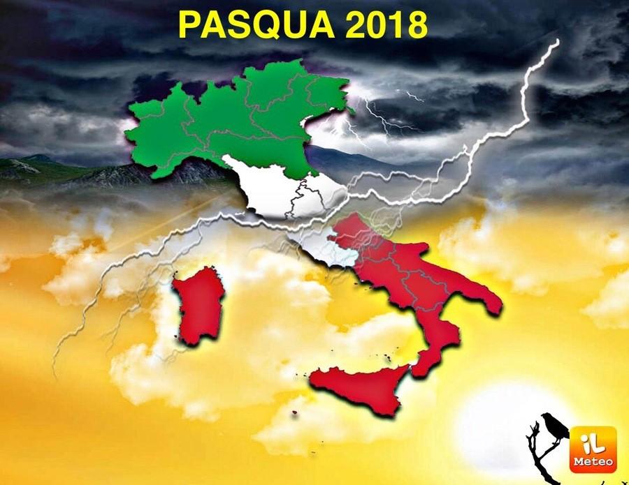 Meteo Napoli: Pasqua e Pasquetta estiva grazie ad Hannibal