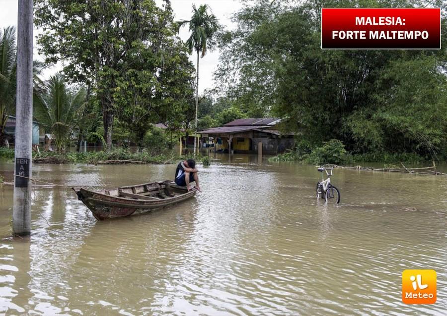 Malesia, forti piogge nei giorni scorsi